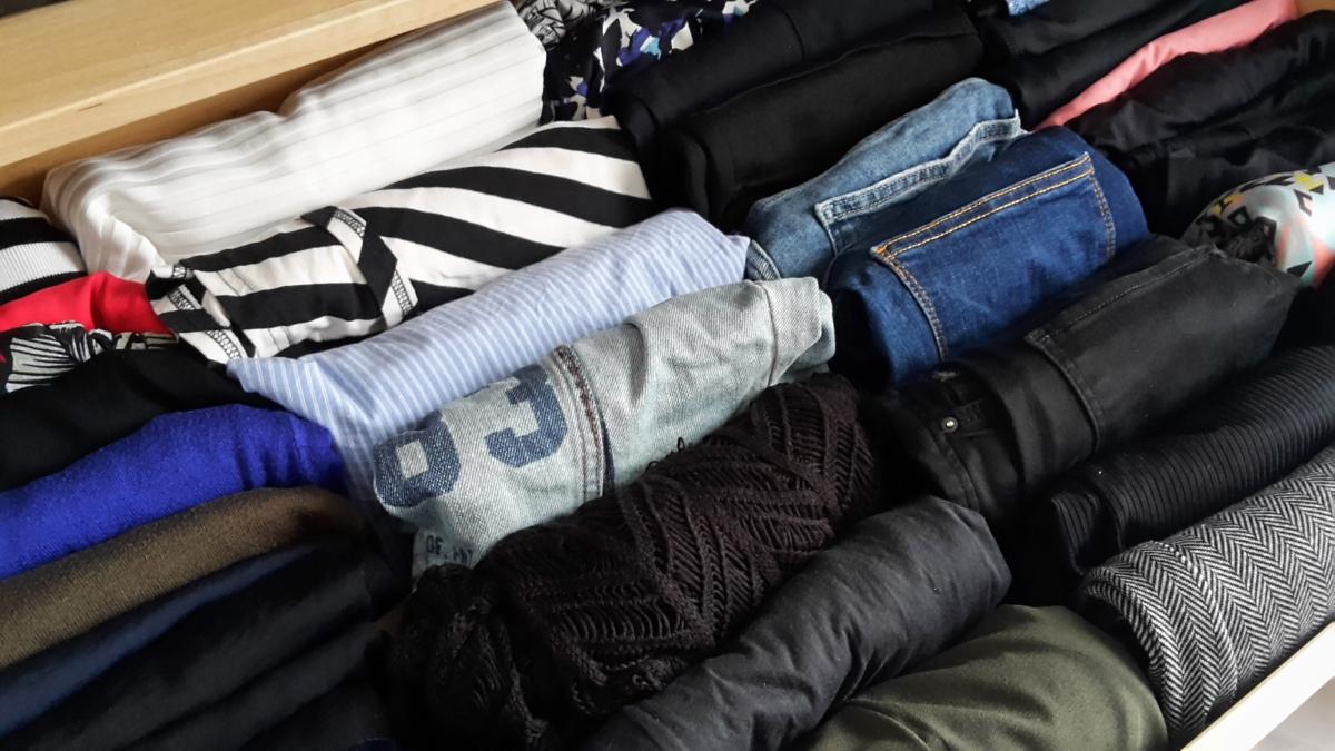 Mijn kleding minimaliseren met Marie Kondo